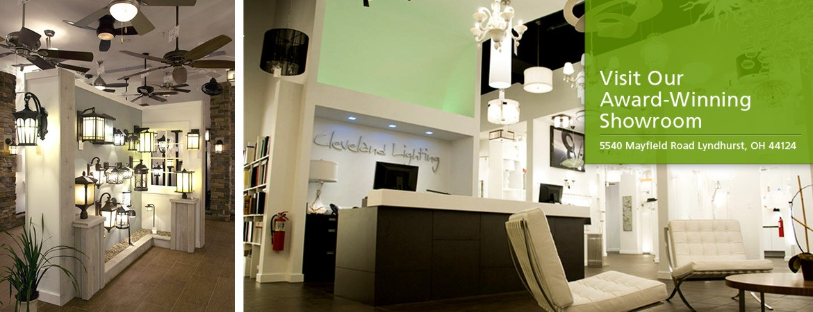 Cleveland Lighting - Visit Our Award Winning Showroom