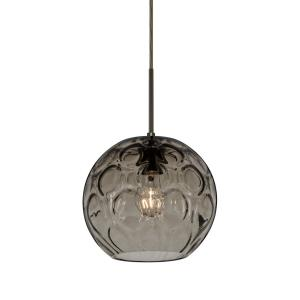 bombay one light cord pendant with - Besa Lighting