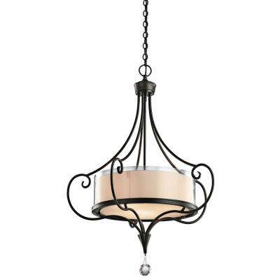 Kichler Lighting 42864SWZ Laurel - Three Light Inverted Pendant
