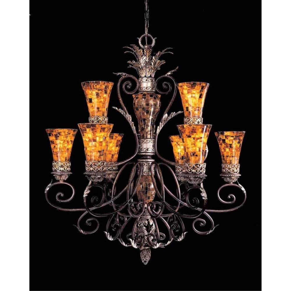 Salamanca Nine Light 2 Tier Chandelier