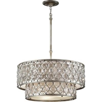 Feiss F2707/6BUS Lucia - Six Light Chandelier