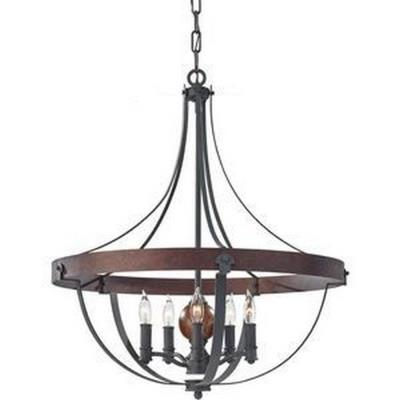 Feiss F2794/5AF/CBA Alston - Five Light Chandelier