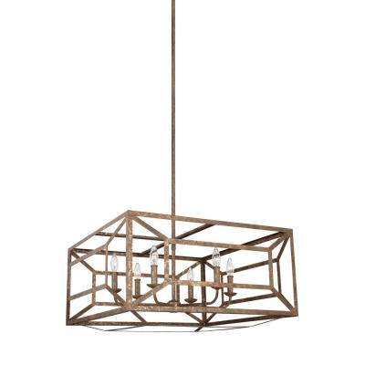Feiss F3172 Marquelle - Six Light Chandelier