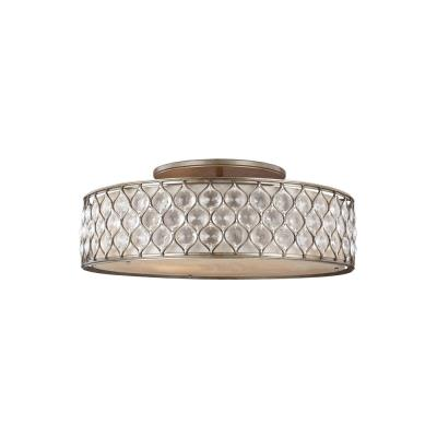 Feiss SF329BUS Lucia - Six Light Semi-Flush Mount