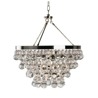 Robert Abbey Lighting S1000 Bling - Chandelier With Convertible Double Canopy