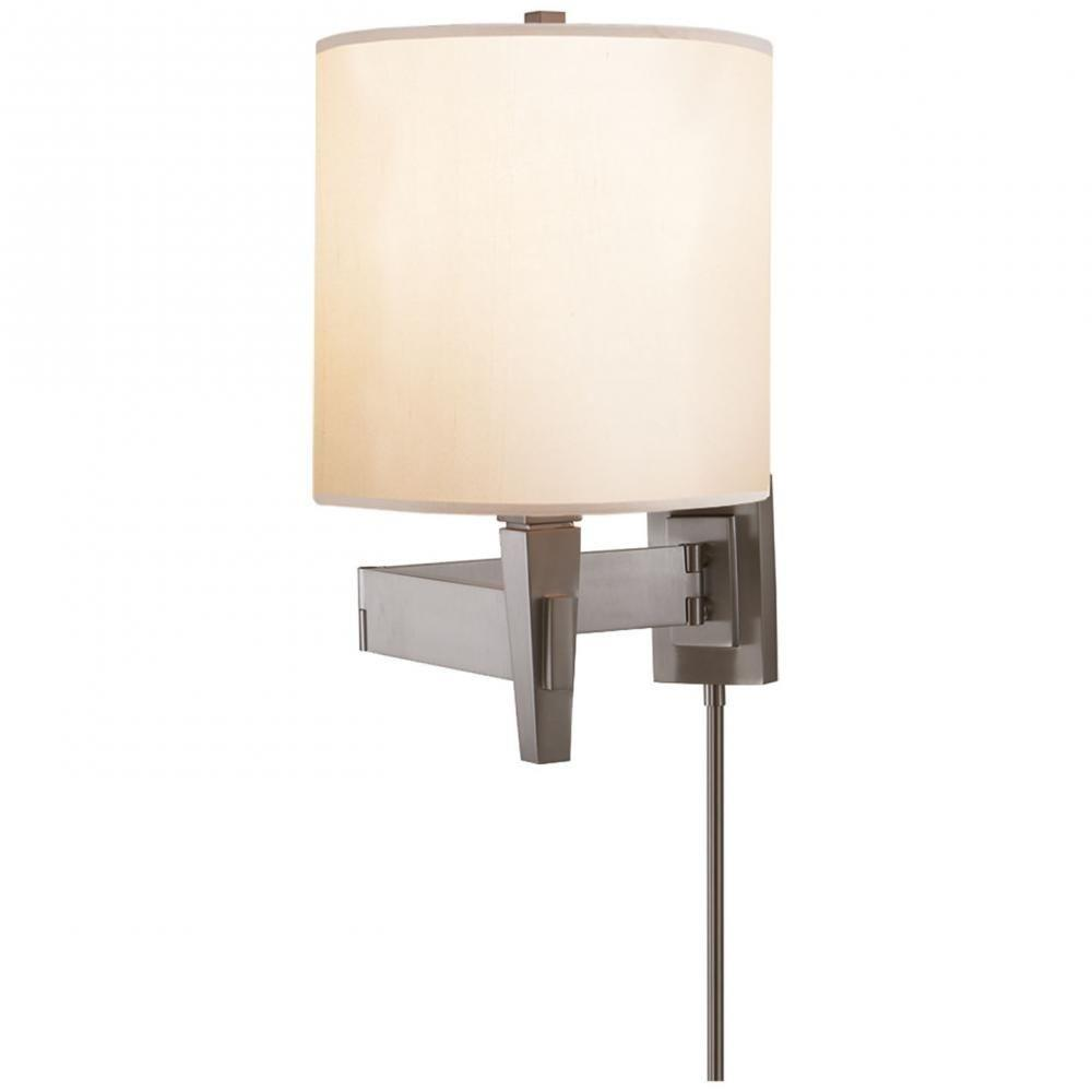 Visual Comfort Pt 2000b Architects One Light Swing Arm Wall Sconce Tap To Expand