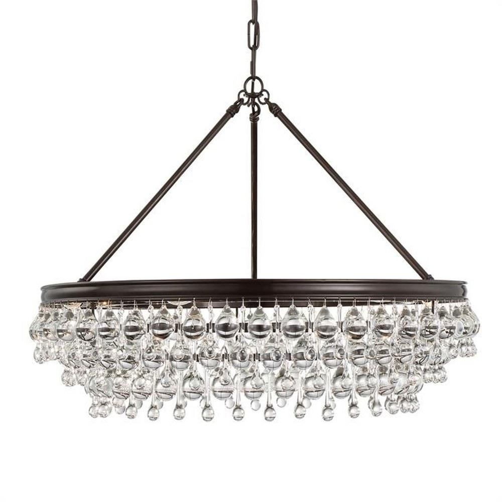 Chandeliers Crystal Contemporary Wrought Iron