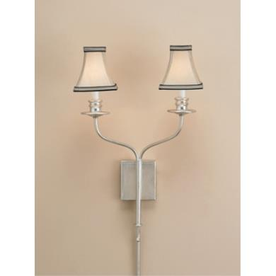 sc 1 st  Cleveland Lighting & Currey and Company - 5106 - 2 Light Highlight Wall Sconce