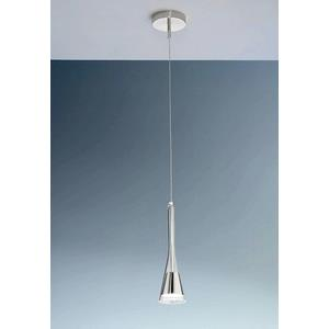 Lichtstar One Light Pendant With Round Canopy
