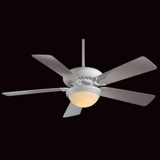 Minka Aire Fans F569-WH Supra 52 with Light Kit